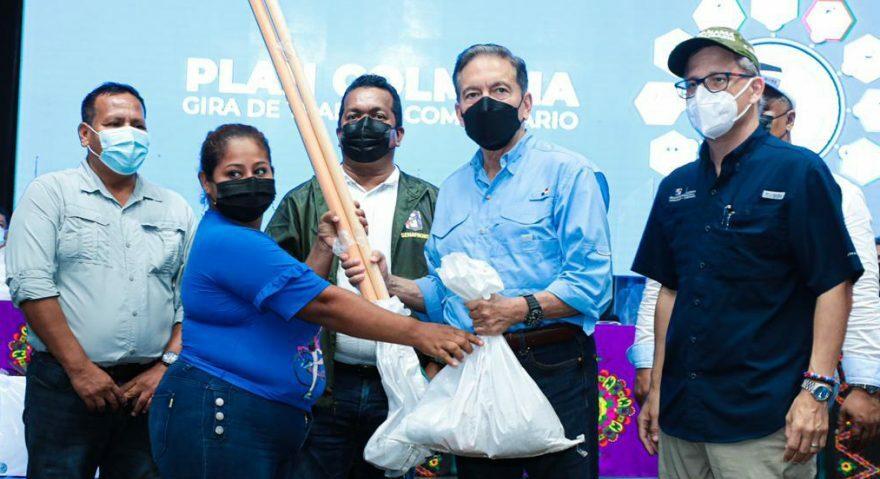 Ayuda del Gobierno Nacional llegó a pequeños productores de Darién y Panamá Este.